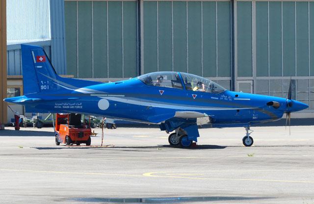 Saudi Arabian PC-21 Stephan Widmer